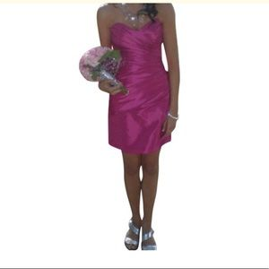 Pink prom or homecoming dress